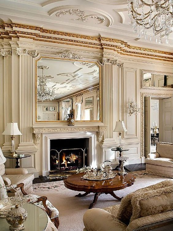 traditional living room 26