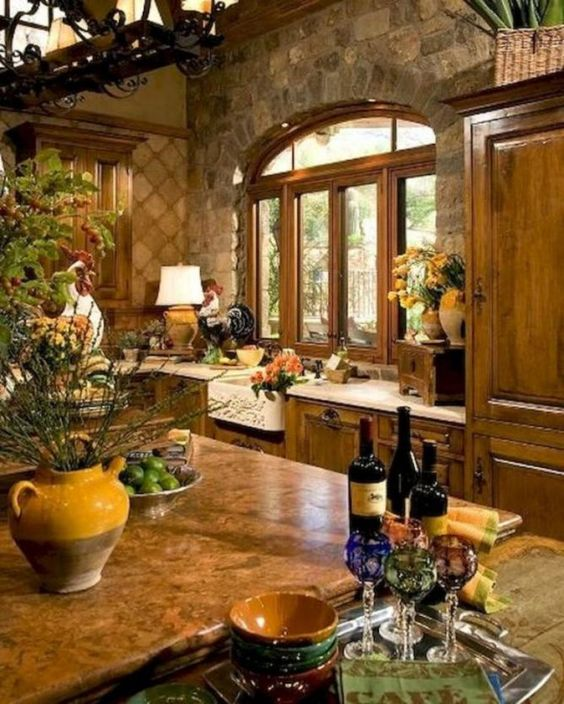tuscan kitchen 10
