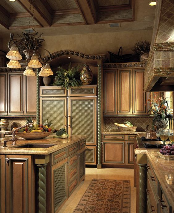 tuscan kitchen 2