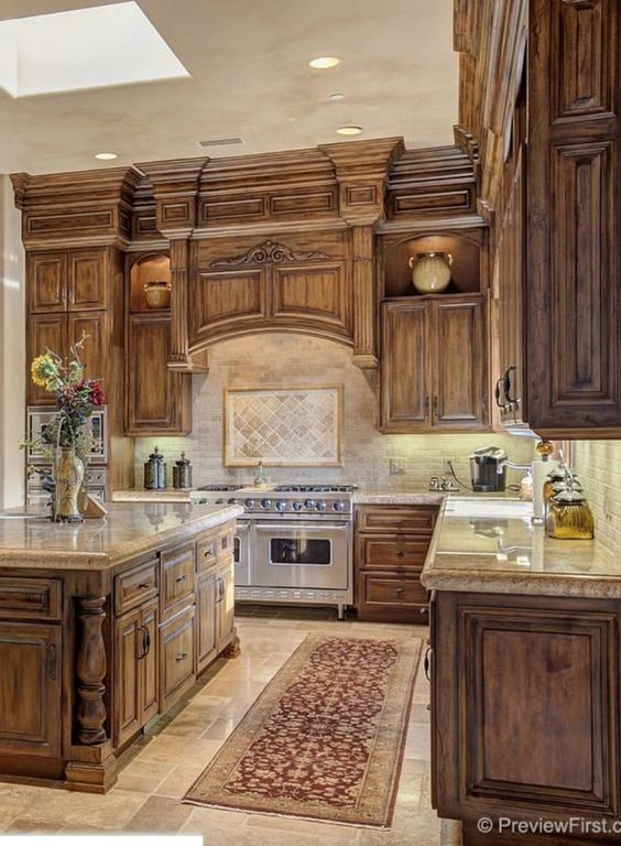tuscan kitchen 4