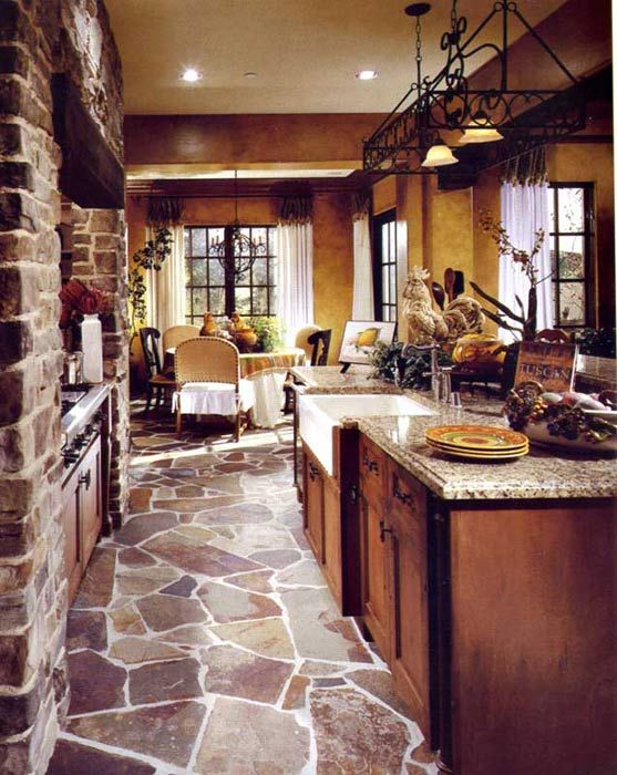 tuscan kitchen 6