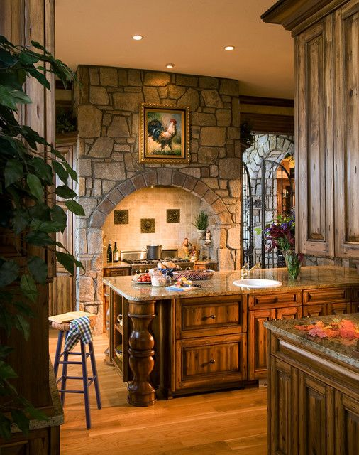tuscan kitchen 7