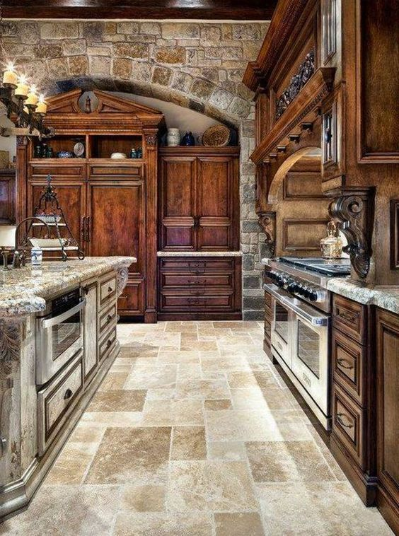 tuscan kitchen 8