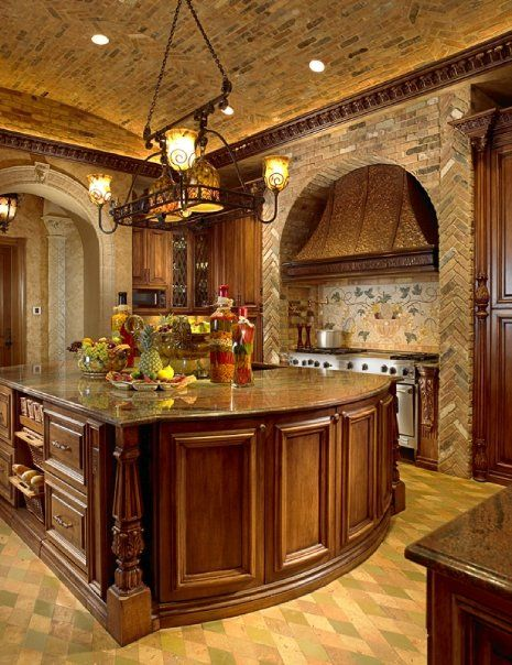 tuscan kitchen 9