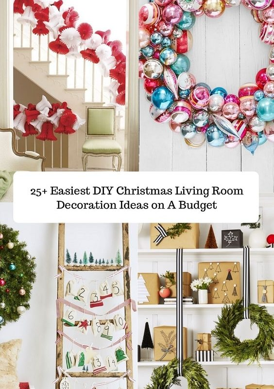 DIY Christmas Living Room Decoration (1)-min