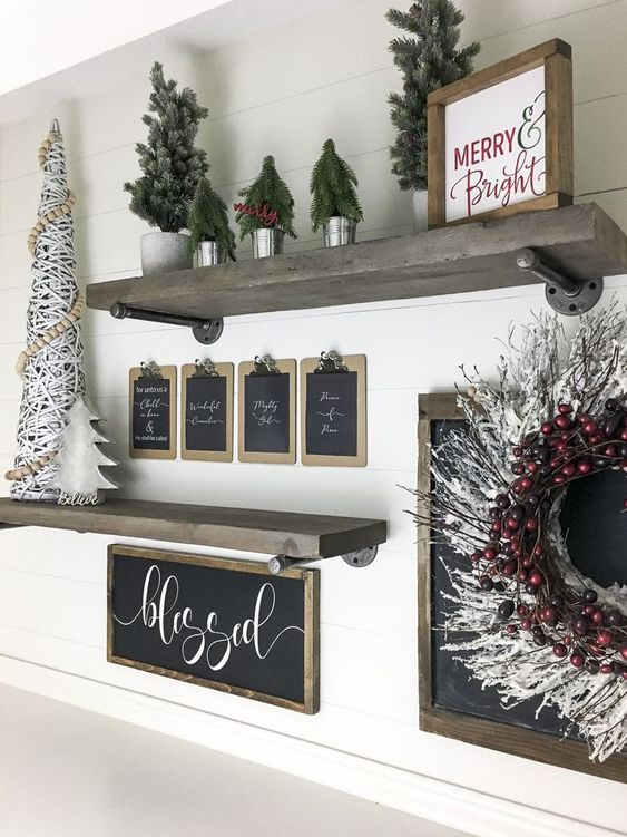 DIY Christmas Living Room Decoration 10