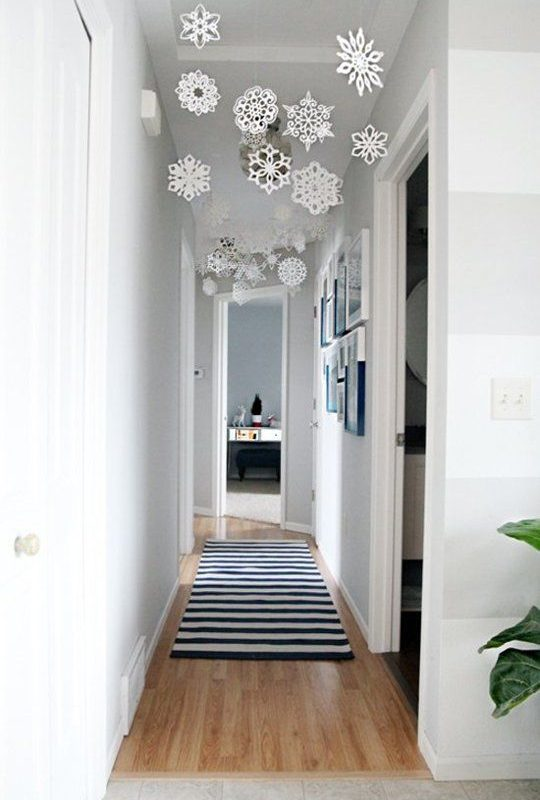 DIY Christmas Living Room Decoration 17