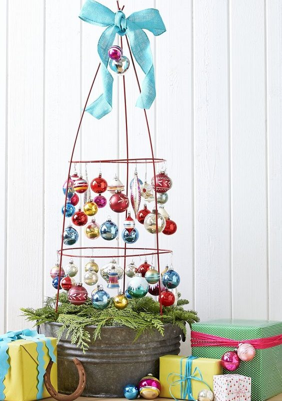 DIY Christmas Living Room Decoration 6