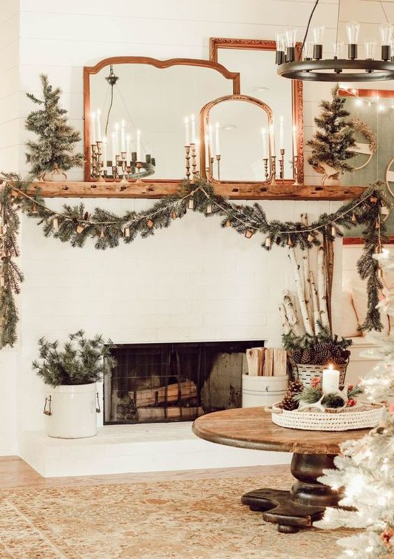 DIY Christmas Living Room Decoration 8
