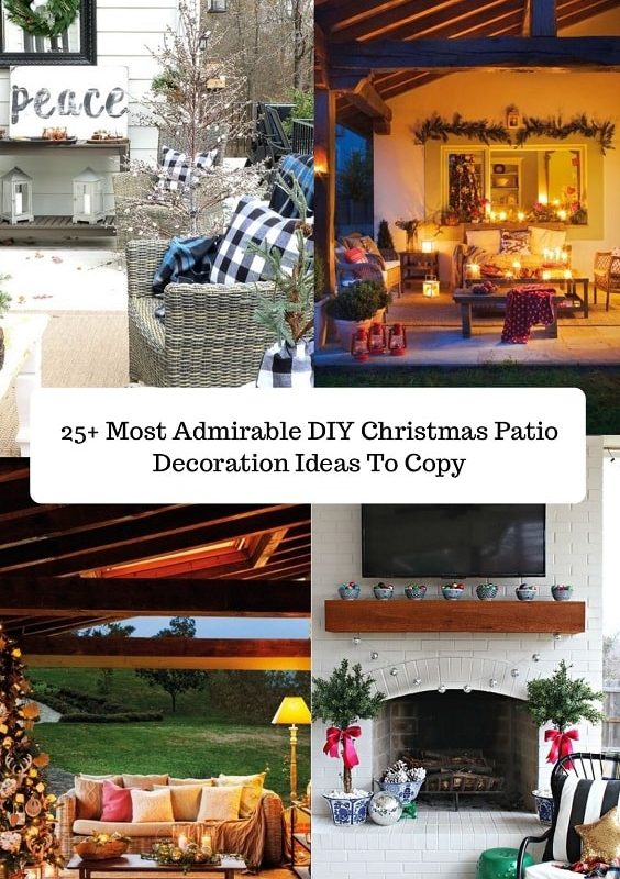 DIY Christmas Patio Decoration-min