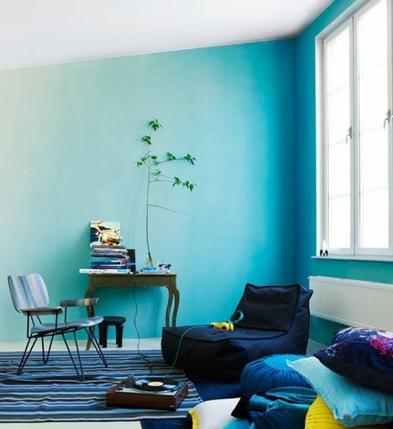Turquoise Living Room 10