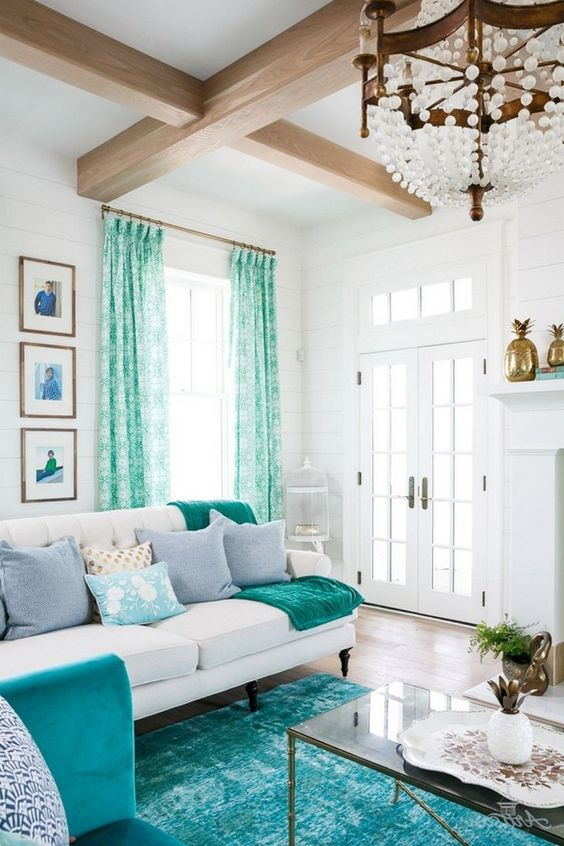 Turquoise Living Room 11