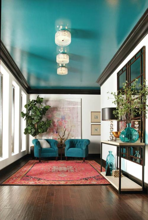Turquoise Living Room 13