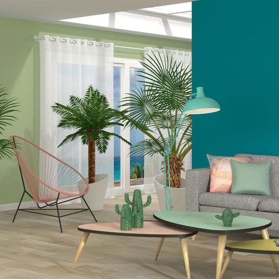 Turquoise Living Room 16