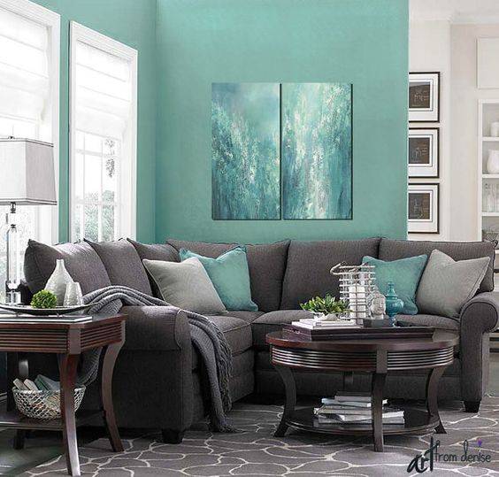 Turquoise Living Room 22