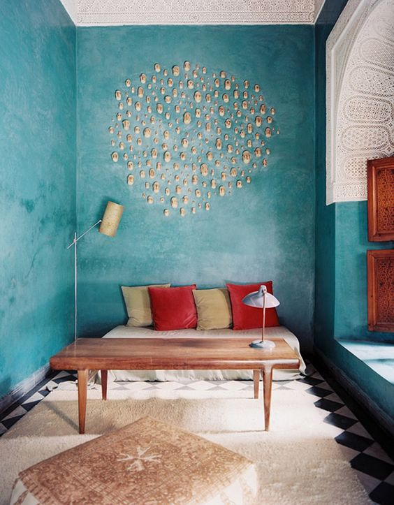Turquoise Living Room 27