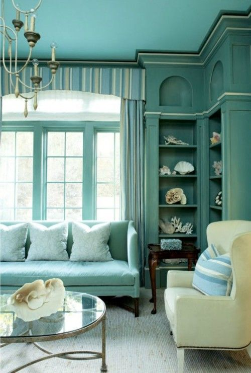 Turquoise Living Room 3