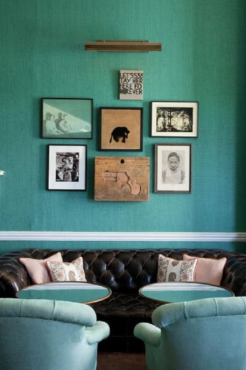 Turquoise Living Room 6