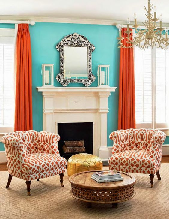 Turquoise Living Room 7