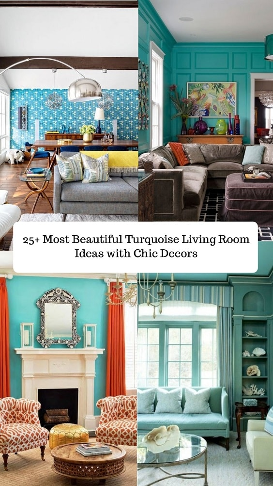 Turquoise Living Room-min