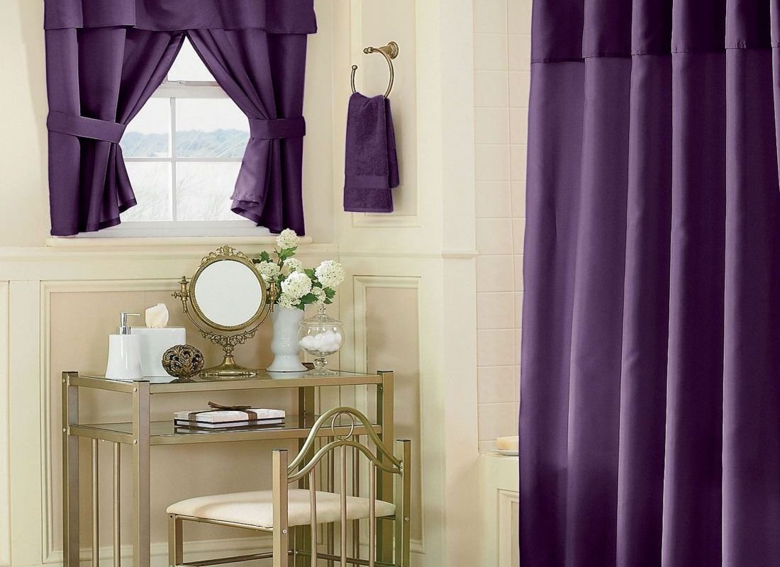 Bathroom Curtains: 10+ Amazing Curtain Ideas and Guides