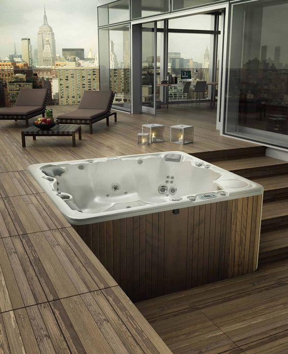 deck hot tub 1