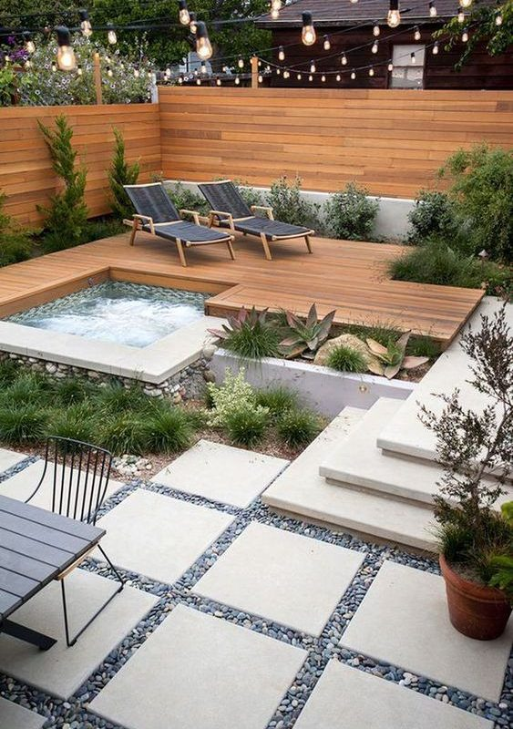 deck hot tub 11