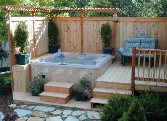 deck hot tub 14