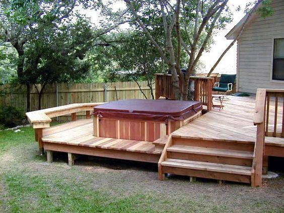 deck hot tub 16