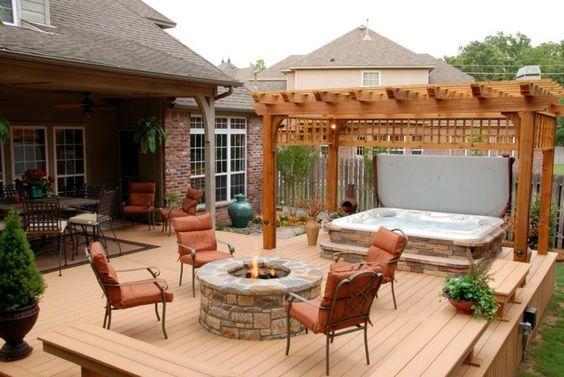 deck hot tub 21