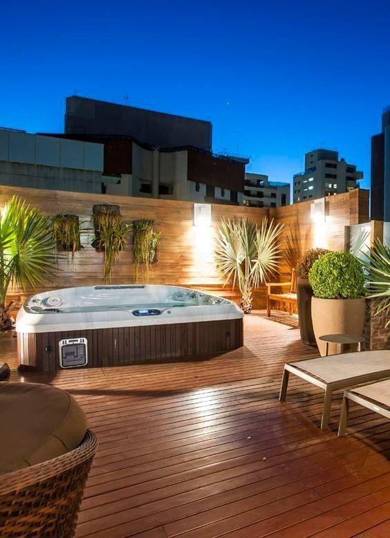 deck hot tub 24