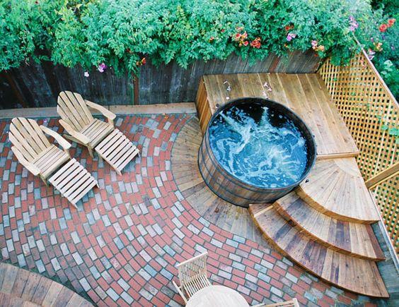 deck hot tub 7