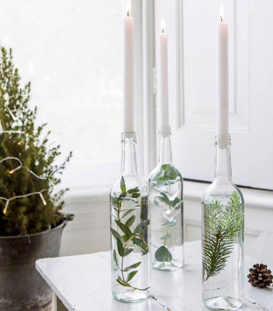 diy christmas dining room 20