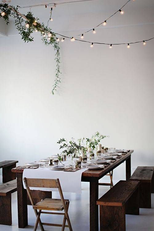 diy christmas dining room 5