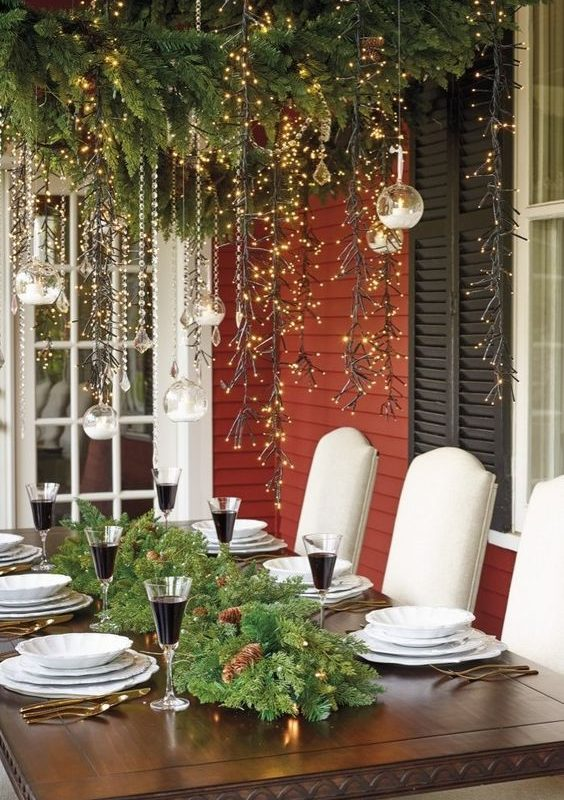 diy christmas patio decoration 23