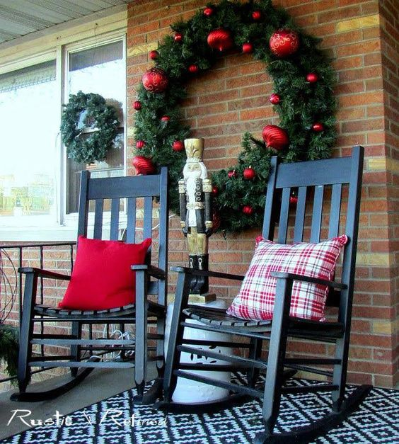 25+ Most Admirable DIY Christmas Patio Decoration Ideas To Copy