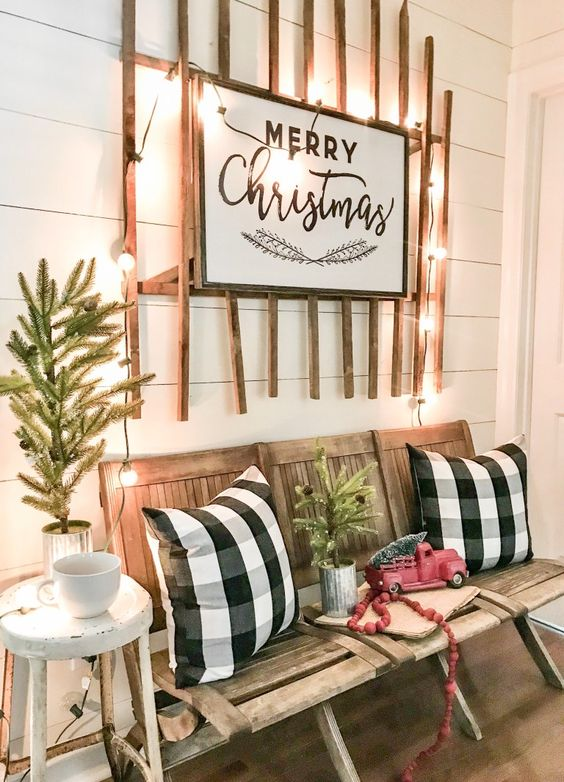 diy christmas patio decoration 5