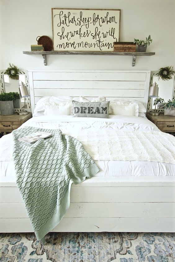 farmhouse master bedroom 26
