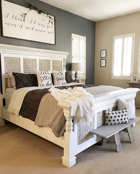 25+ Most Inspiring Farmhouse Master Bedroom Ideas To Copy