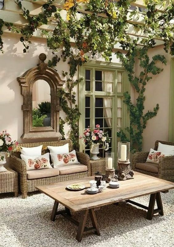 25+ Exhilaratingly Beautiful Outdoor Living Room Ideas On ... on Outdoor Living Space Ideas On A Budget id=72267