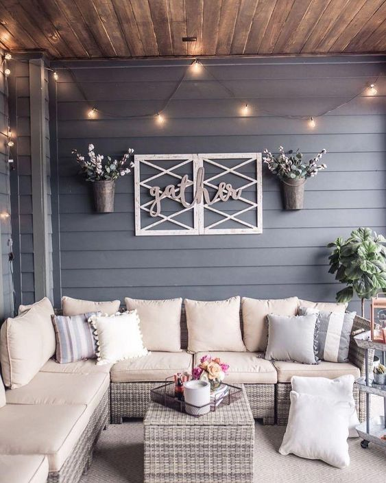 25+ Exhilaratingly Beautiful Outdoor Living Room Ideas On ... on Outdoor Living Space Ideas On A Budget id=59824