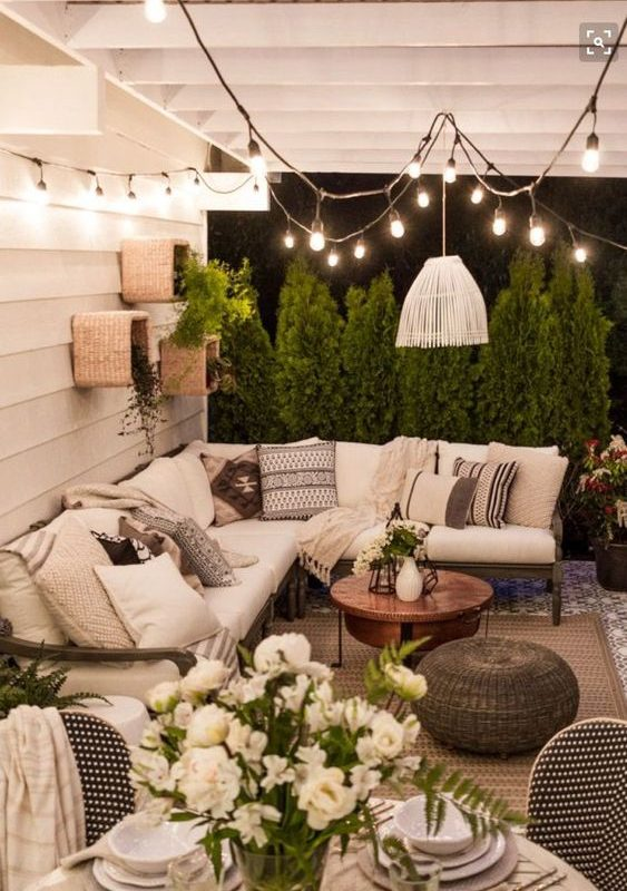 25+ Exhilaratingly Beautiful Outdoor Living Room Ideas On ... on Outdoor Living Space Ideas On A Budget id=36204