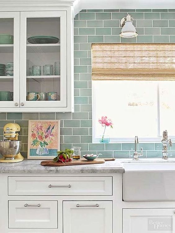 seaglass kitchen backsplash 11