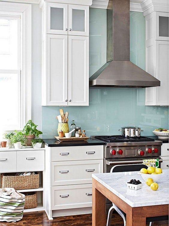 20+ Most Inspiring Seaglass Kitchen Backsplash Ideas For A