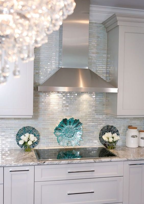 seaglass kitchen backsplash 4