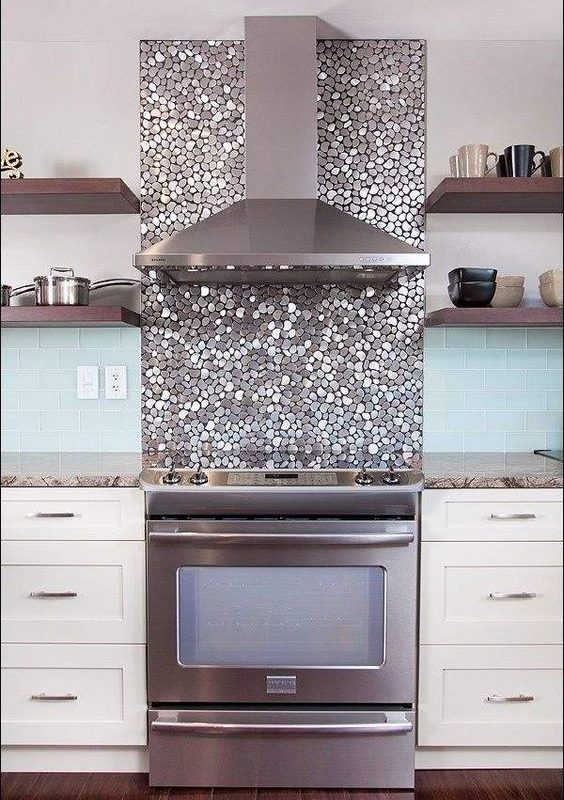 seaglass kitchen backsplash 5