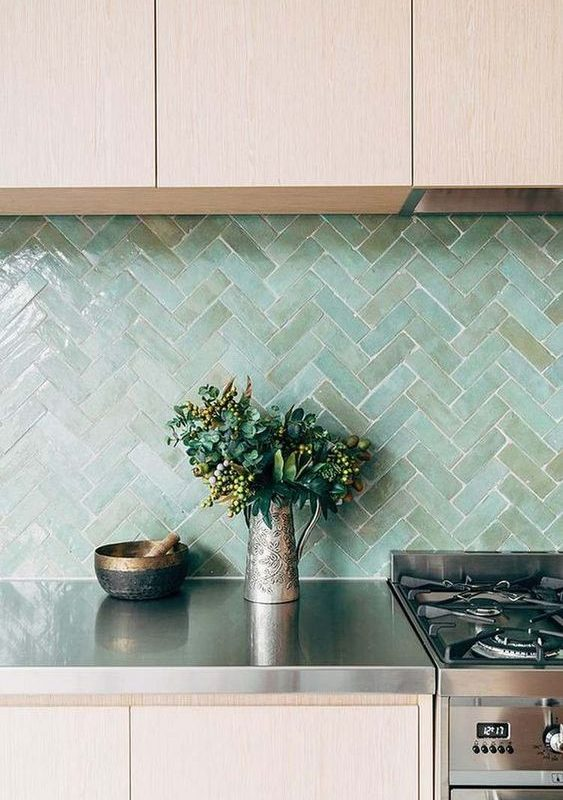 seaglass kitchen backsplash 8