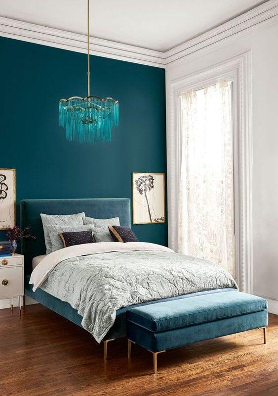 bedroom color combination 4