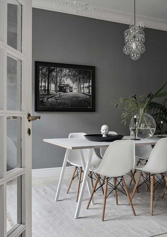 grey dining room 11