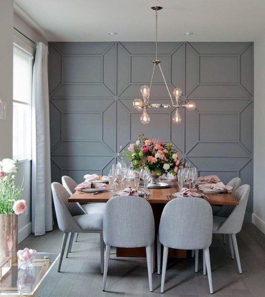 grey dining room 13